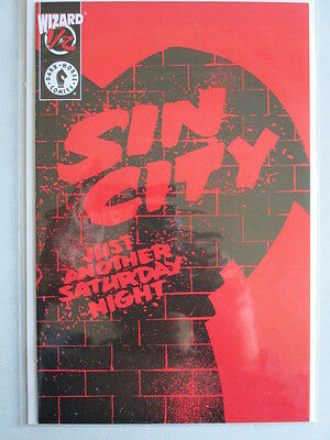 Sin City #1/2 Wizard Edition With COA