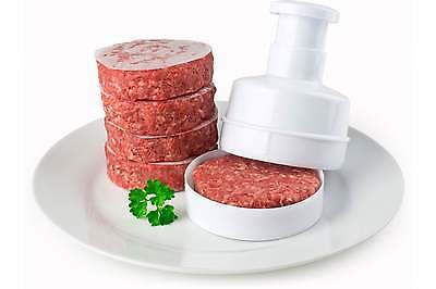 Andrew James Hamburger Beef Burger Maker Mould Press + 100 FREE Wax Discs