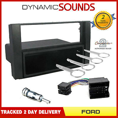 CT24FD10 Car Stereo Single Din Fascia & Fitting Kit for Ford Focus MK2 2005-2007