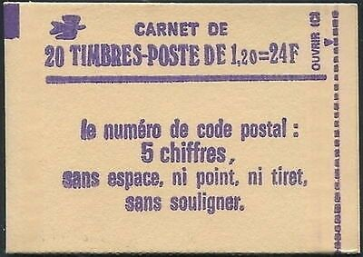 France Carnet Moderne N°2101-C1 Confectionneuse N°8 NEUF ** LUXE