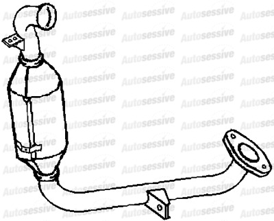 Ford Focus 1 6 Tdci 0704 On Diesel Particulate Filter Lower