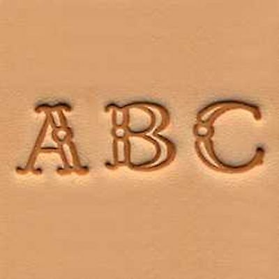 Craftool Fancy Alphabet Stamp Set 3 8 4907 00 By Tandy Leather