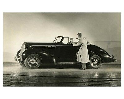 1936 Oldsmobile Convertible Coupe Automobile Photo Poster zch7800