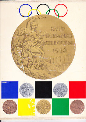 1956 MELBOURNE OLYMPIC GAMES BOOK by ARGUS