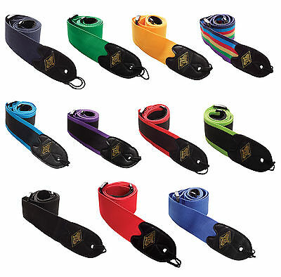 Rotosound Guitar Strap High Quality Webbing  Choice Of Colours £8.99