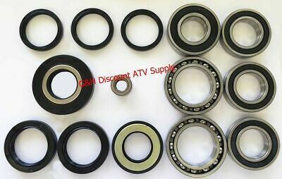 COMPLETE Rear Differential & Axle Bearing Seal Kit for 2001-2011 Honda TRX 250EX