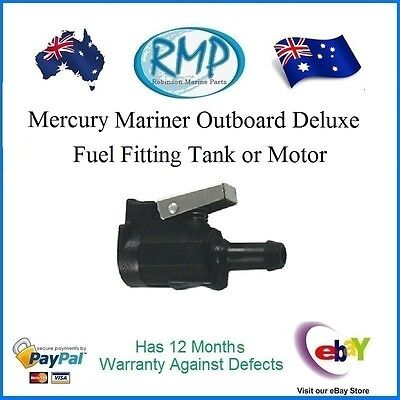 A Brand New Deluxe Fuel Fitting Tank or Motor Mercury Mariner # 22-13563A3D