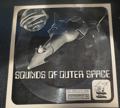 1964 Auravision Record Sounds of Outer Space Cool Spaceship