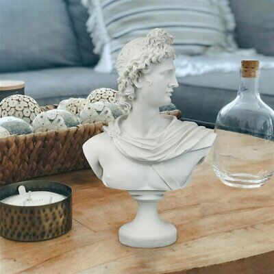 Pythian Apollo Belvedere Greek God of Archery Light & Youth Sculpture Bust