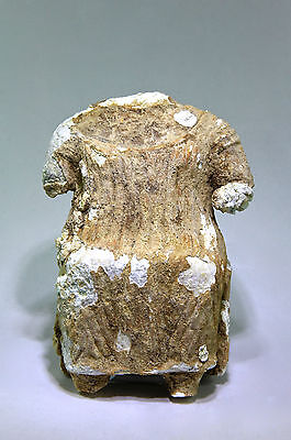 SCARCE Ancient Near Eastern South Arabian Seated Female Idol 300 BC