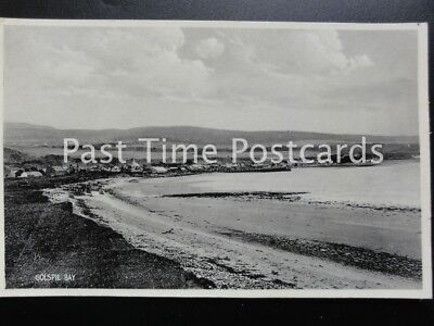 Scotland Sutherland GOLSPIE BAY & Village - Old Postcard