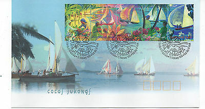 Cocos (Keeling) Islands Fdc 1999 Festival Sg359/363