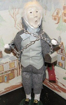 Byers Choice Caroler A Xmas Carol Marley's Ghost w Chains 2013 Hang Tag    *
