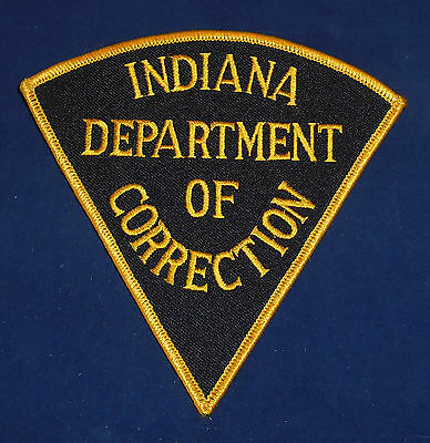 Indiana Department of Correction Police Shoulder Patch (invp2364)