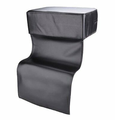 Kids Extra Soft Thick Child Chair Seat Booster Cushion Barber Hairdressing Black