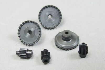 Tyco HO Slot Car Parts - 440x2 & HPx2 Crown & Pinion Gear Lot of 3 - New