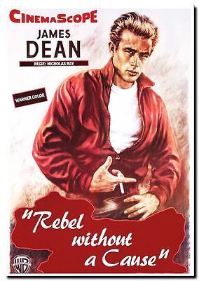 "QUALITY CANVAS ART PRINT James Dean `Rebel without a Cause' Photo 12x8"" poster"