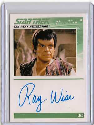 Star Trek TNG Complete Series 1 Auto Card Ray Wise