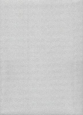 Zweigart 14 Count Confederate Grey Aida Cross Stitch Fabric Fat Quarter 49x54cms