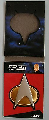 Star Trek TNG Complete Series 1 Communicator Badge Card CP1 Capt Jean-Luc Picard