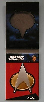 Star Trek TNG Complete Series 1 Communicator Badge Card CP9 Wesley Crusher
