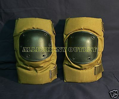 Bijans or Alta US Military USMC Army KNEE PADS Coyote Brown LARGE Paintball  VGC