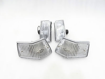 BRAND NEW VESPA FRONT & REAR INDICATOR SET OF 4 PX/LML CLEAR LENS #VP516 @pummy