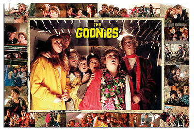 The Goonies Compilation Poster New - Maxi Size 36 x 24 Inch