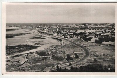 channel islands postcard guernsey cobo