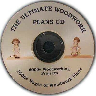 Garden Shed & More Sheds, A Massive Woodwork Collection Over 690Mb On A Cd!