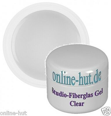 15ml Studio-Fiberglas Gel Clear mittelviskos, UV Gel, Fiberglas, Nailart