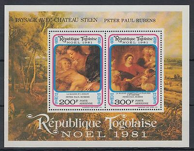 Togo 1981 ** Bl.184 Gemälde Paintings Rubens [sq4271]