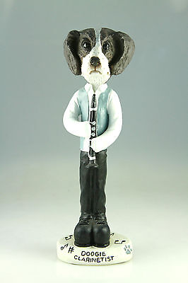 Clarinetist Brittany Liver Wht Interchangable Body See Breed Bodies @ Ebay Store