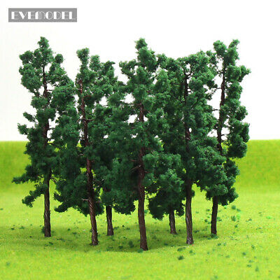 D11040 40pcs Scale Train Layout Set Model Trees O 11cm