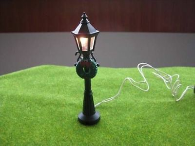 R41 4pcs Model Railway Lamppost lamp O OO G 11cm