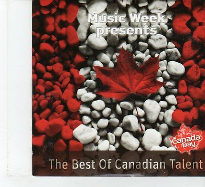 (FR57) Music Week Presents, The Best Of Canadian Talent, 8 tracks - 2010 CD