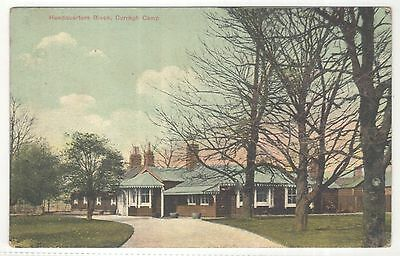 irish postcard ireland kildare curragh camp military headquarters