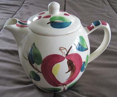 Purinton Pottery Apple Hand Painted 8 Cup Coffee Pot