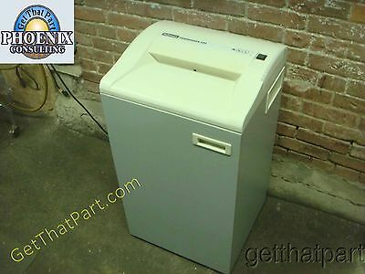 Fellowes 38221 220 Fast StripCut Usa Made Industrial Paper Shredder