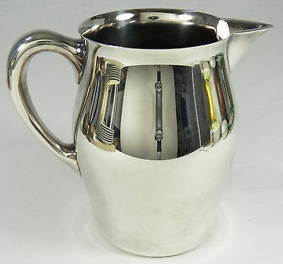 REED & BARTON Pitcher Silver Plate Silverplate Paul Revere Style # 5662 3 Pint