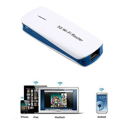 150Mbps 5 in 1 Mini Portable 3G WIFI Mobile Kabellos Router USB 2.0 Mit Cable