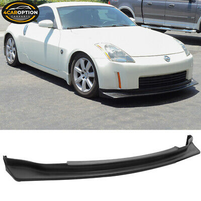 Fits For 03-05 Nissan 350Z JDM N-Style Front Bumper Lip PU Urethane