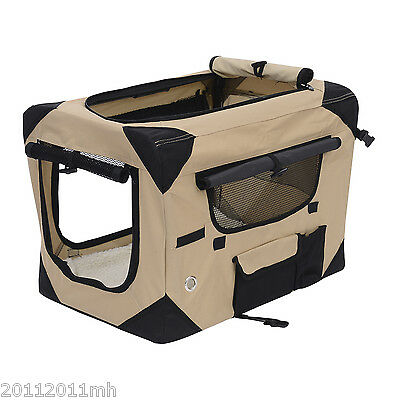 """Large 32"""" Pet Soft Carrier Dog Bed Kennel Portable Travel Pet Cat House Home"""