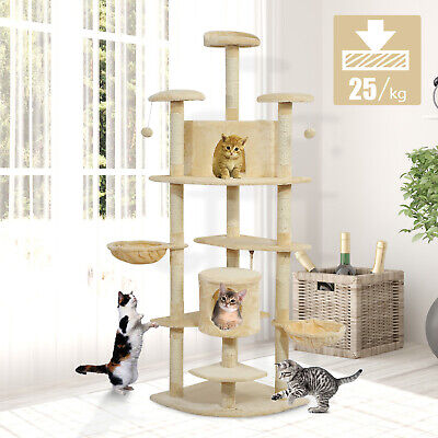 Cat Scratching Tree Pet House Condo Post Play Toy Tower Kitten Play Center
