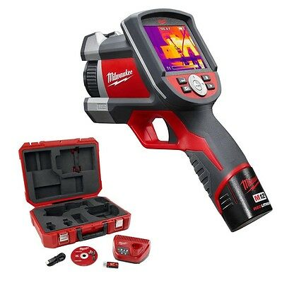 Milwaukee Tools 2260-21 M12 12 Volt Lithium-Ion 160 X 120 Thermal Imager Kit