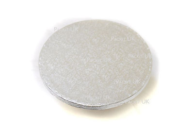 "2 x 6"" Inch Round Cake Drum Board 1/2"" 12mm THICK"