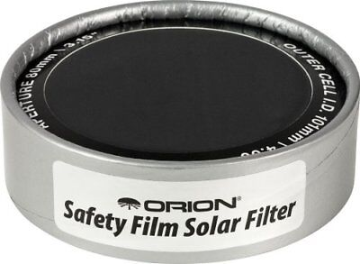 Orion 7785 4.00-Inch ID E-Series Safety Film Solar Filter New