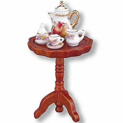 DOLLHOUSE Side Table with Coffee Setting Reutter 18580 Miniature 1-12 gemjane