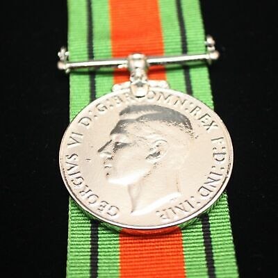 WW2 British/Canada/Commonwealth Defence Medal, Reproduction