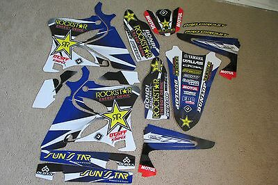 Flu  Pts  Team Rockstar  Graphics Yamaha Yz125 Yz250 2002-2014   #71052